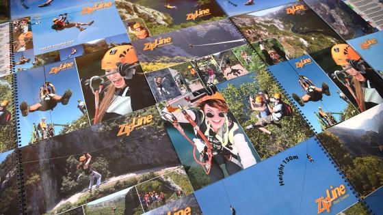 Tisak brošura - Zipline Croatia - Split, Dalmacija, Hrvatska