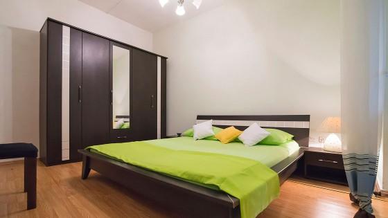 Profesionalno fotografiranje apartmana - soba, krevet - Split, Dalmacija, Hrvatska