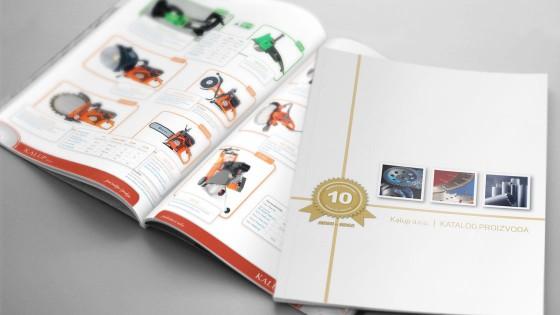 Graficki dizajn - izrada kataloga - Kalup doo - Split, Dalmacija, Hrvatska