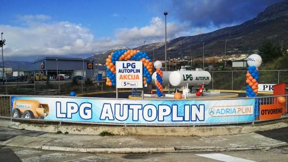 Izrada reklama - Adria plin - Split, Dalmacija, Hrvatska
