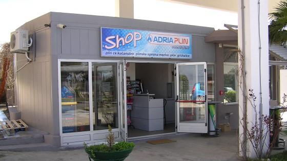 Izrada reklama - svijetleća reklama - Adria plin - Split, Dalmacija, Hrvatska