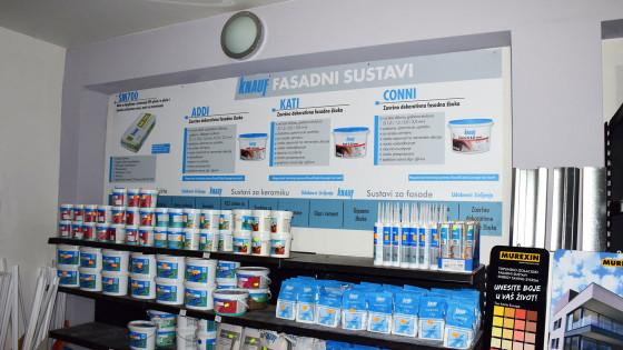 Izrada reklama - Knauf Makarska - Pano - Naljepnica