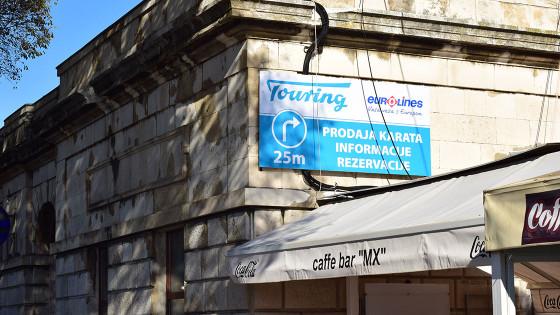 Izrada reklama - Pano naljepnica - Touring, Split, Dalmacija, Hrvatska