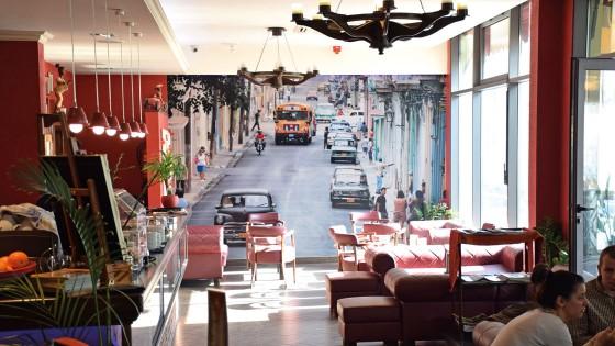 Oslikavanje interijera - Caffe bar Kuba - Split, Dalmacija, Hrvatska