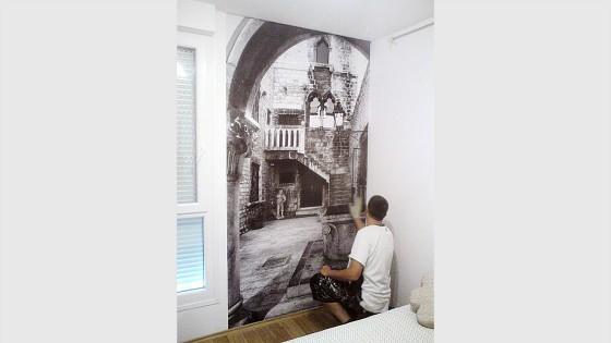 Oslikavanje interijera - foto tapet - Split, Dalmacija, Hrvatska
