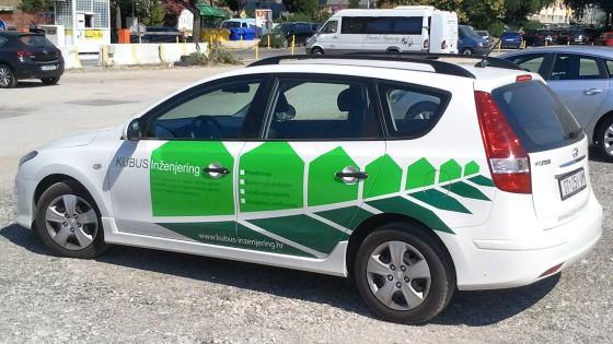 Oslikavanje automobila - Kubus inzenjering - Split, Dalmacija, Hrvatska