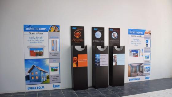 Sustavi za prezentaciju - forex ploce - Trgovacki centar Color - Split, Dalmacija, Hrvatska