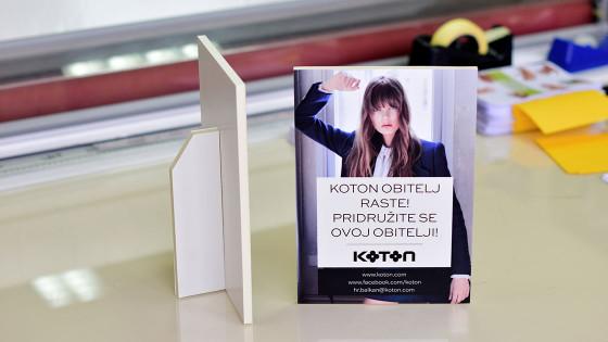 Sustavi za prezentaciju - Kapafix naljepnica - Koton - Split, Dalmacija, Hrvatska