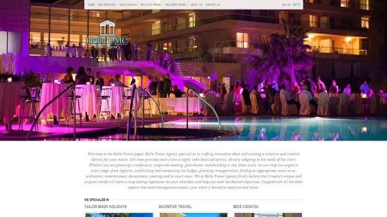 Web design - izrada web stranica - DMC travel - Split, Dalmacija, Hrvatska