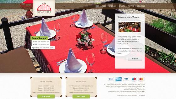 Izrada web stranica - web dizajn - Konoba Bracera - Split, Dalmacija, Hrvatska