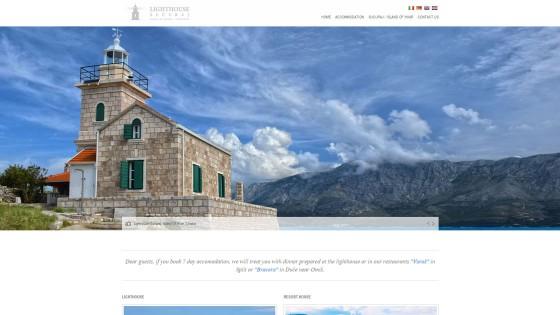 Izrada web stranica - web design - Svjetionik Sućuraj - Split, Dalmacija, Hrvatska