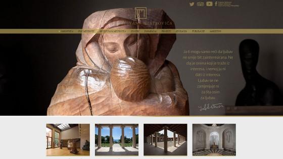 Izrada web stranica - web dizajn - Muzeji Meštrović - Split, Dalmacija, Hrvatska